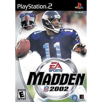 Madden NFL 2002 (PS2) - Fabrik versiegelt
