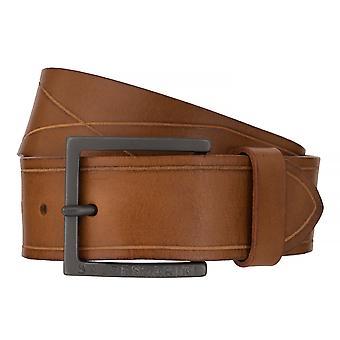 Балдессарини пояса кожаные ремни мужские ремни кожа бежевый/коричневый 6507