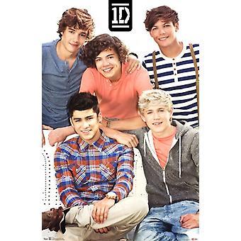 One Direction - stampa del manifesto del gruppo