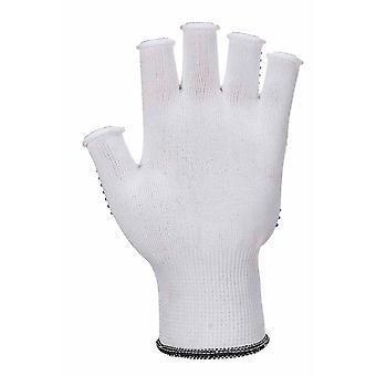 Portwest All Purpose vingerloze PolkaDot Grip handschoenen (1 paar Pack)