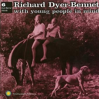 Richard Dyer-Bennet - nr. 6 met jongeren in Min [CD] USA import