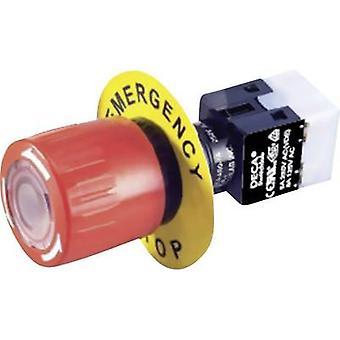 DECA ADA16E6-R22-C10R Kill Switch 250 V AC 5 A 2 brytare, 2 besluts fattare IP65 1 st (s)