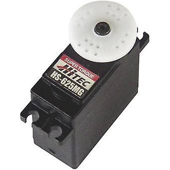 HiTec Standard servo HS - 625MG analog servo Gear box materiale: Metal stik system: JR