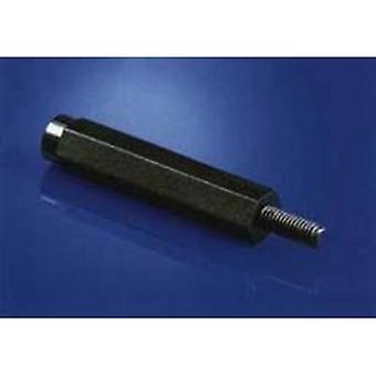 534820 afstandhouder (L) 15 mm M4 M4 polyamide 1 PC (s)