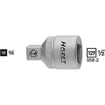 Adaptador Hazet 958-2 Bit Unidad (destornillador) 1/2 (12,5 mm) Fuerza descendente 3/8 (10 mm) 36 mm 1 ud(s)