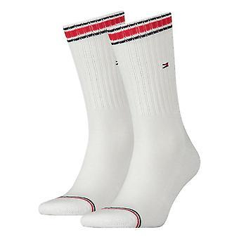 Tommy Hilfiger 2 Pack Sport calcetín - blanco