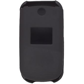Tacto suave Snap-On caso de dos piezas para LG 230, LG230 - negro