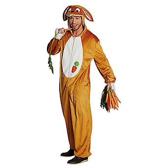 Hase Tierkostüm Hasenoverall Hasenkostüm Kaninchen Kostüm für Herren
