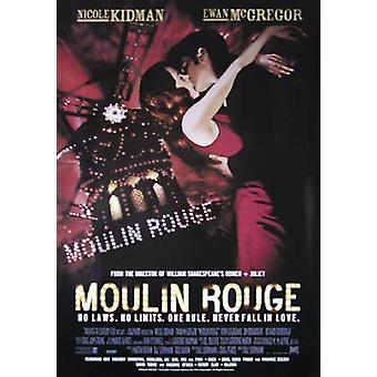 Moulin Rouge Poster  Nicole Kidman, Ewan Mc Gregor (Nachdruck)