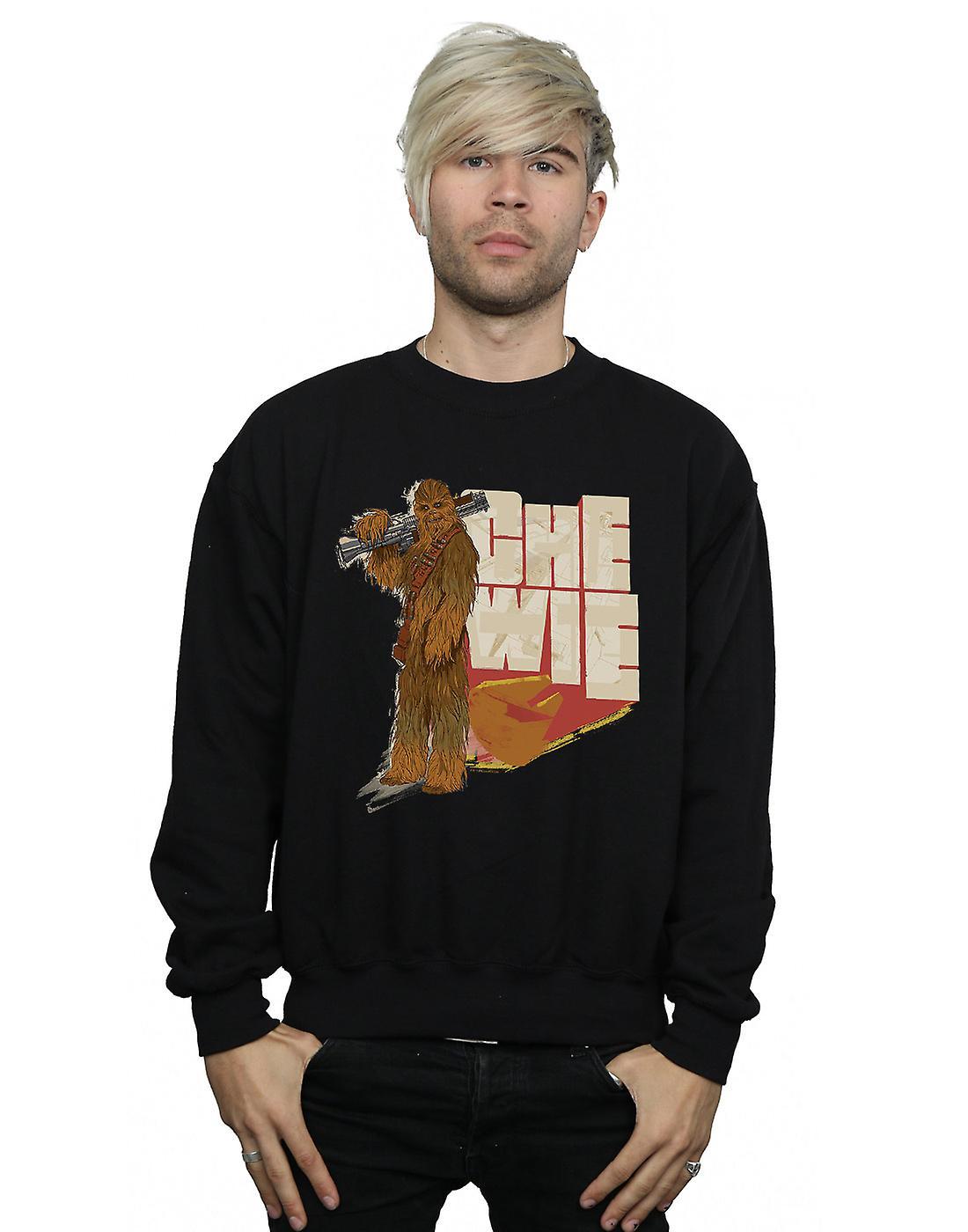 Star Wars Men's Solo Chewie Falcon Sweatshirt