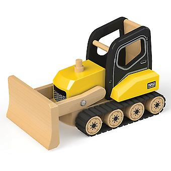 Tidlo Wooden Bulldozer Construction Vehicles Roleplay Accessories