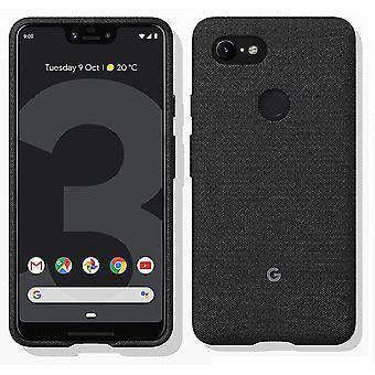 Virallinen Google Pixel 3 XL -kangaskotelon kansi GA00494 - Carbon Black
