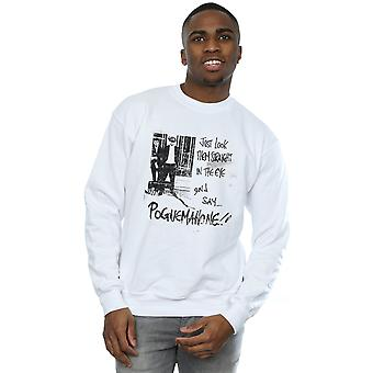 The Pogues Men's Straight In The Eye Sweatshirt