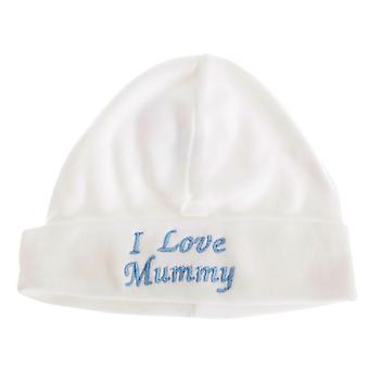 Tessili Universal Baby Boys/Girls I Love Mamma Hat