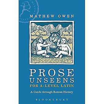 Prosa Unseens para um nível Latino: um guia através da história romana
