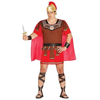 Mens Centurion Warrior Gladiator Fancy Dress kostuum