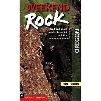 Helgen Rock Oregon: Trad och Sport rutter från 5,0 till 5.10a