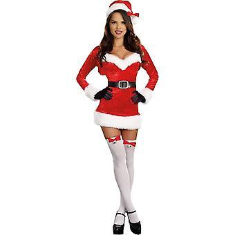 Sexig Santa vuxen dräkt