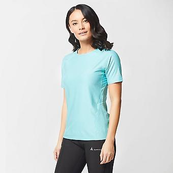 New Technicals Women's Fitness Workout Gym Vitality T-shirt Blue