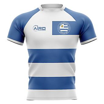 2020-2021 Uruguay Flag Concept Rugby Shirt - Adult Long Sleeve