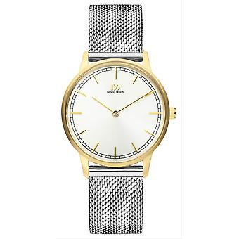 Danish Design Tildos Vigelso Small Watch - Silver/Gold