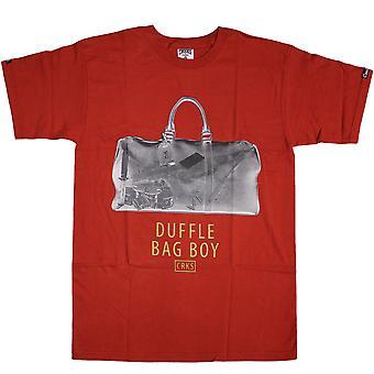 Crooks & Castles Duffle Bag T-Shirt True Red