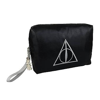 Harry Potter Deathly Hallows Shimmer Cosmetic Bag