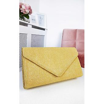 IKRUSH Womens Afia Shimmer Clutch Bag