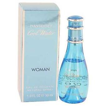 Cool Water By Davidoff Eau De Toilette Spray 1 Oz (women) V728-402102
