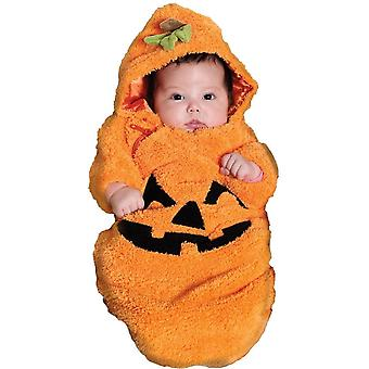 Orange Pumpkin Infants Costume