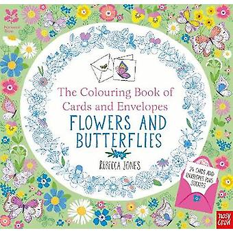 National Trust The Colouring Book of Cards and Envelopes by Rebecca Jones
