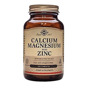Solgar Kalsium Magnesium plus Sinkki Tabletit 100 (520)