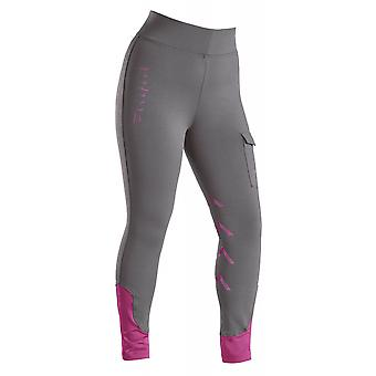 Firefoot Ripon Ladies Stretch Breeches - Charcoal/plum