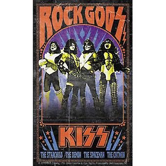 Sticker - Kiss - Rock Gods New Toys Licensed s-8033