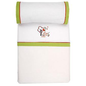 Naf Naf Jungle minicuna sheets (Textile , Child's , Linens)