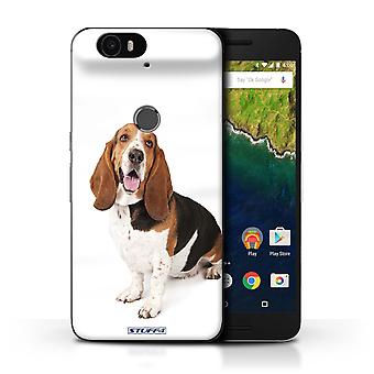 STUFF4 Case/Cover for Huawei Nexus 6P/Basset Hound/Dog Breeds