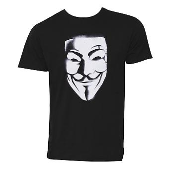 V for Vendetta Mask mænd ' s T-shirt