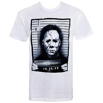 Halloween Mike Myers Mug Shot T-Shirt