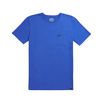 Animal Young Marl Short Sleeve T-Shirt in Cobalt Blue Marl