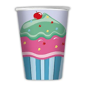 Cupcake 200cc cc Paper Party Cups
