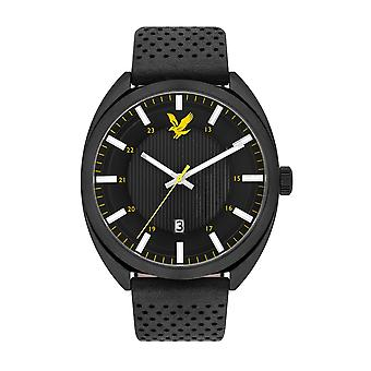 Lyle & Scott LS-6015-02 Men's Tevio Black Dial Wristwatch