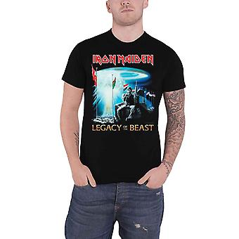 Iron Maiden T Shirt Two Minutes to Midnight Legacy of the Beast Official Black