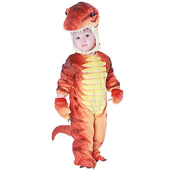 تي ريكس ديناصور ما قبل التاريخ كتاب أسبوع اللباس الأولاد زي 4-6