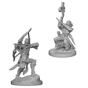 D&D Nolzur's Maravillosas miniaturas sin pintar Elfo Macho Bardo (Pack de 6)