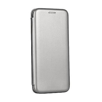 Case For Huawei P Smart 2019 Folio Grey Silver
