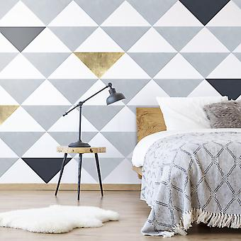 Andvika large triangle wall decals
