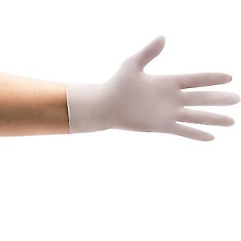 careline - nitril handschoenen - wit - maat L - doos (100 st)