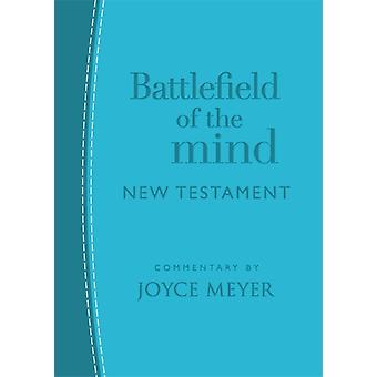 Battlefield of the Mind New Testament Arcadia Blue Leather by Joyce Meyer
