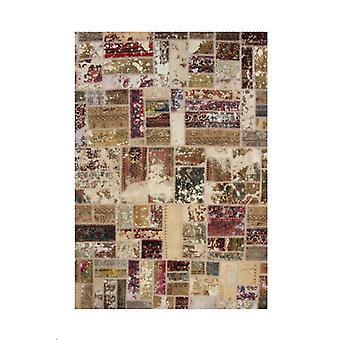 Ręcznie wiązany perski patchworkmat Tabriz 169x239cm