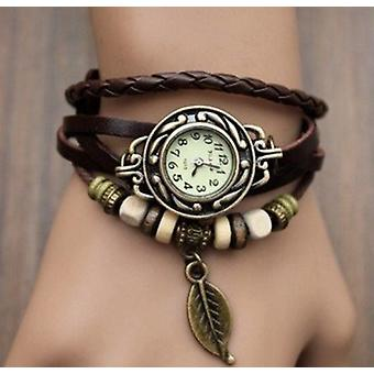 women's watch leather strap penitent feather